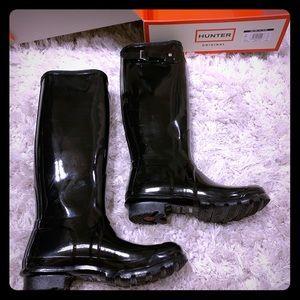 🆕 Women's Original Tall Back Gloss Rain Boots